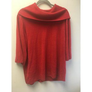 Ralsey Red Sweater Size 1X